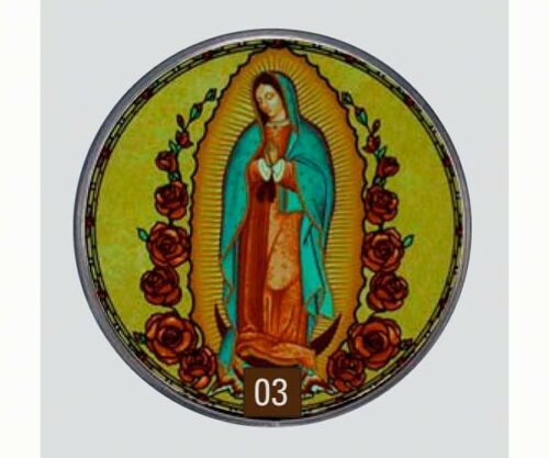 Our Lady of Guadalupe - Stained Glass Suncatcher  Masterwork USA GM1023