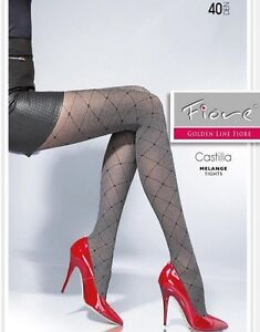 CASTILLA-Collants-40Den-Fiore