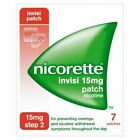 Nicorette Step 2 Invisi 15 mg 7 Patches