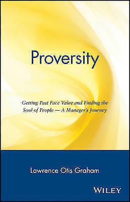 Proversity by Morris A. Graham (Hardback, 1997)