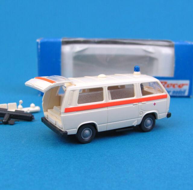 Roco H0 1355 VW T3 Krankenwagen Rotes Kreuz DRK KTW Bulli HO 1:87 OVP Ambulanz