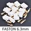 miniature 2 - Connettore automotive crimpare Spina Faston 6.3mm 1-6 pin Auto Moto terminale
