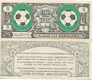 CALCIO-DOLLARI-DA-5