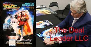 Tom-Wilson-Signed-Back-to-the-Future-2-13x19-Poster-PSA-JSA-Beckett-COA