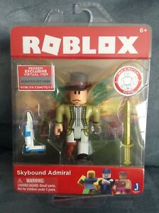 Roblox Vampire Mask Code - Details About Roblox Skybound Admiral For Ages 6 1 Figure Accessories Virtual Game Code