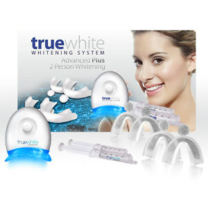 truewhite 2 Person Advanced Plus Teeth Whitening Kit up to 25 treatments