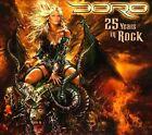 25 Years in Rock [Bonus CD] [Digipak] by Doro (CD, Sep-2011, 3 Discs, Nuclear Blast)
