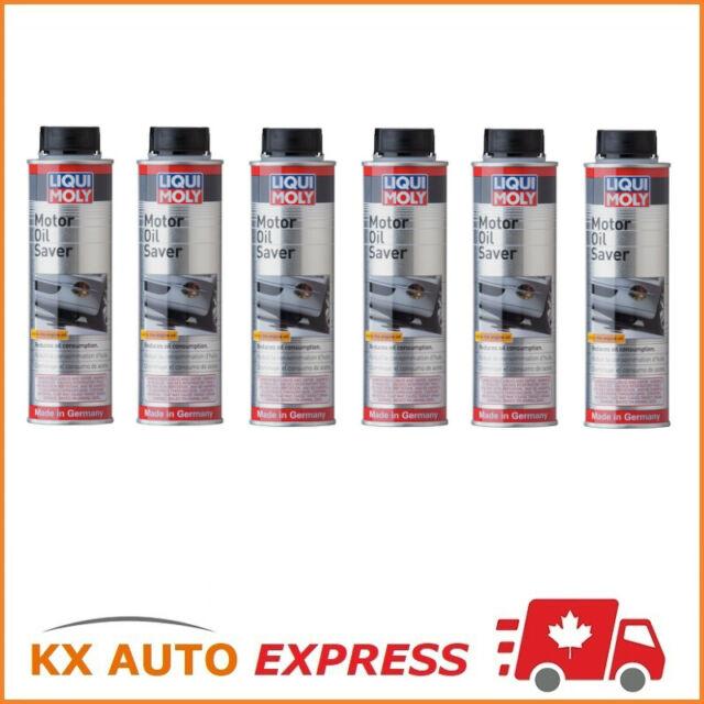 6X Liqui Moly Motor Oil Saver (Stops Oil Leakage & Blue Smoke) 300ml 2020