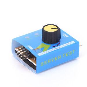 Réglage directeur engrenage testeur ESC Servo moteur pour télécommande RC neuf