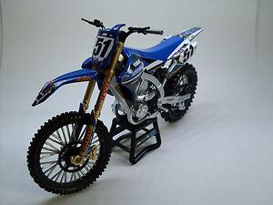 Jgr Yamaha Justin Barcia 51 Model New Ray Toys Dirt Bike Motocross