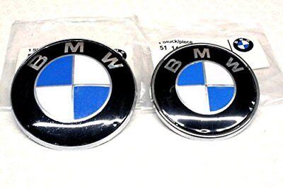 BMW High quality badge hood trunk blue white 82//78//74mm logo e//f series