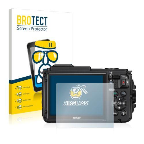 Nikon Coolpix AW130 Protector de Pantalla de Vidrio Templado Film De Protección