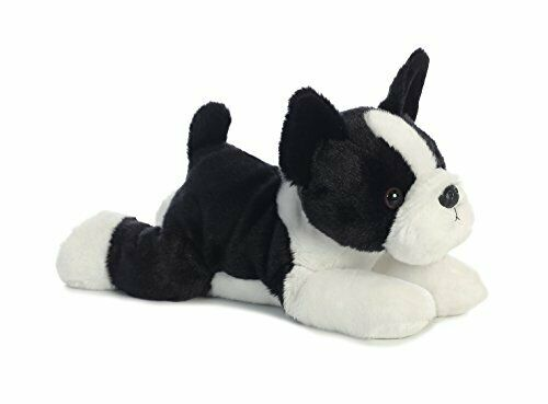 Buster Boston Terrier Dog 12 Flopsie Stuffed Animal