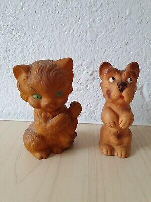 Hund-Quietsche-Figur DDR unbespielt in OVP...2