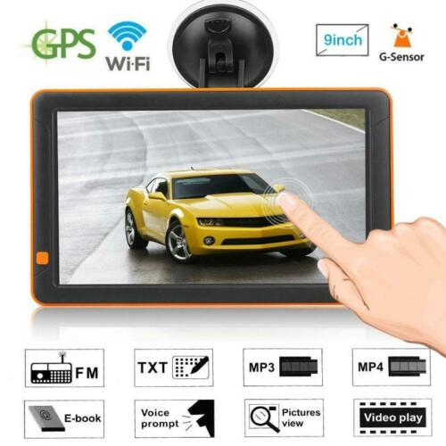 9 inch Android Car Truck GPS Navigation 16GB DVR Video recorder AV-IN free Maps