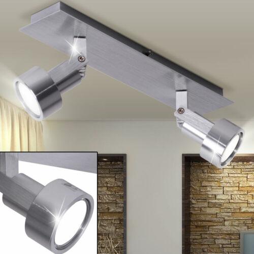 Design LED Decken Leuchten Strahler Esszimmer Glas Bad Ring Strahler verstellbar