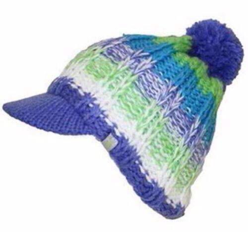 NEW SPYDER SKI//SNOWBOARD GIRLS//WOMENS BRIM HAT CAP BEANIE