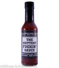 """la salsa più caldo f#@kin'"" - Molto Caldo Peperoncino Salsa!"