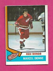 1974-75-OPC-72-RED-WINGS-MARCEL-DIONNE-EX-CARD-INV-C4914