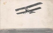 Flugzeug Rumpler - Doppeldecker  W. Sanke Foto Karte