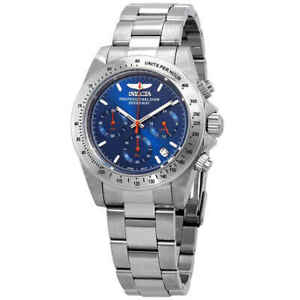 Invicta-Speedway-Chronograph-Blue-Dial-Men-039-s-Watch-27770