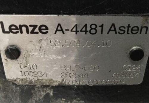 LENZE  A-4481 Asten Getriebe
