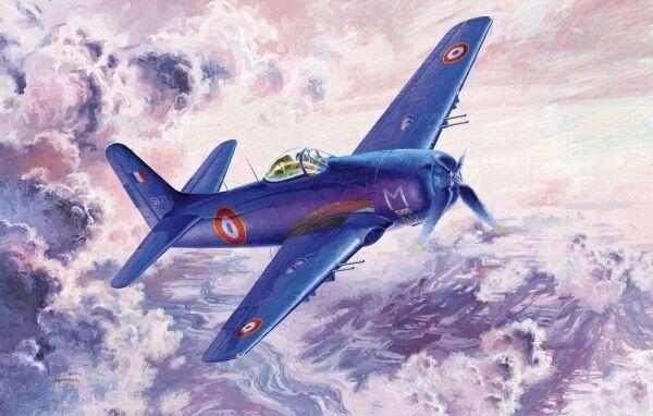 - f8f-1b marderbär flugzeuge 1  32 rohrstabilisierungseinheit trompeter