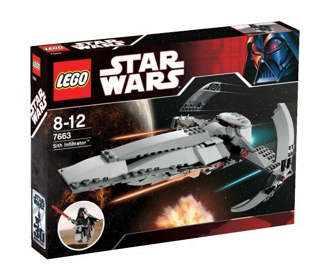 LEGO star wars sith infiltrator (7663)