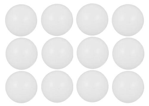Balles de tennis de table ping pong plaine logo libre 40mm BLANC plastique orange uk vendeur