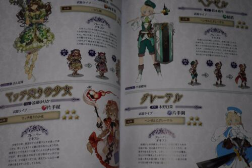 JAPAN Grimms Notes Visual Book