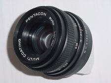 PENTACON 50mm F/1.8 auto M42 Screw Mount Manual Focus Lens ** as mint