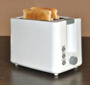 Toaster-zwei-Toastkammern-2-Scheiben-Sandwich-Auftaufunktion-850W-Stufenlos-LED