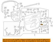 GMC GM OEM 17-18 Acadia Front Door-Cap Trim Left 23259245