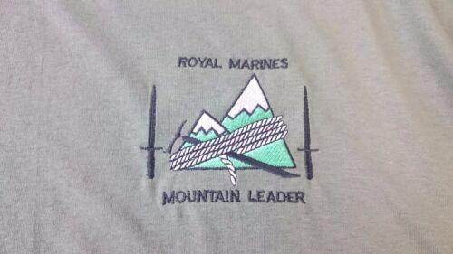 ROYAL MARINES MOUNTAIN LEADER T-SHIRT