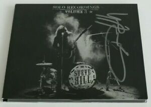 Steve-Hill-Solo-Recordings-Volume-3-CD-Signed-Cover-Preowned