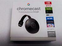 Google Chromecast 2.0 2015 - - Immediate Ship