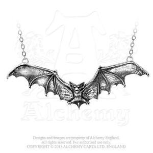 Alchemy-Gotico-Murcielago-Peltre-Collar