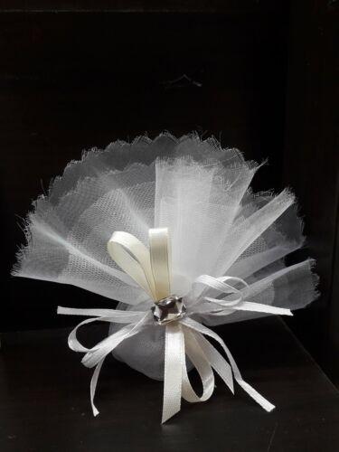 Bomboniere communion baptism birth Wedding Bag with application
