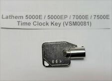 Key 669 Key 699 Lathem 5000e 5000ep 7000e 7500e Time Clock Key Vsm0081