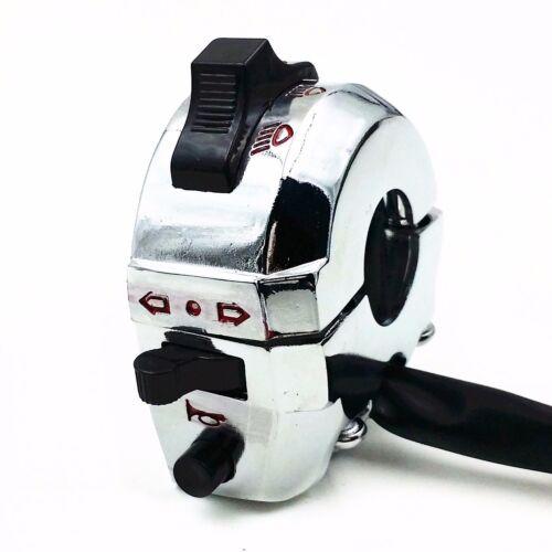 Dual Sport Control High//Low Beam Turn Signal Light Horn Left Switch Chopper ATV