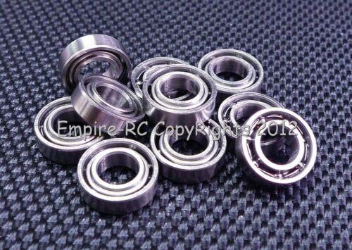 5*10*3 MR105 10 PCS Metal OPEN PRECISION Miniature Ball Bearing 5x10x3 mm