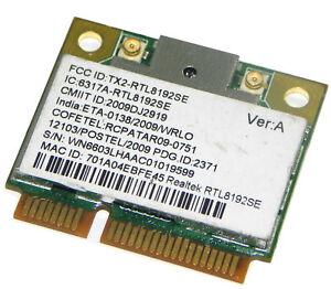 realtek rtl8188ce wireless lan 802.11 n pci e nic driver