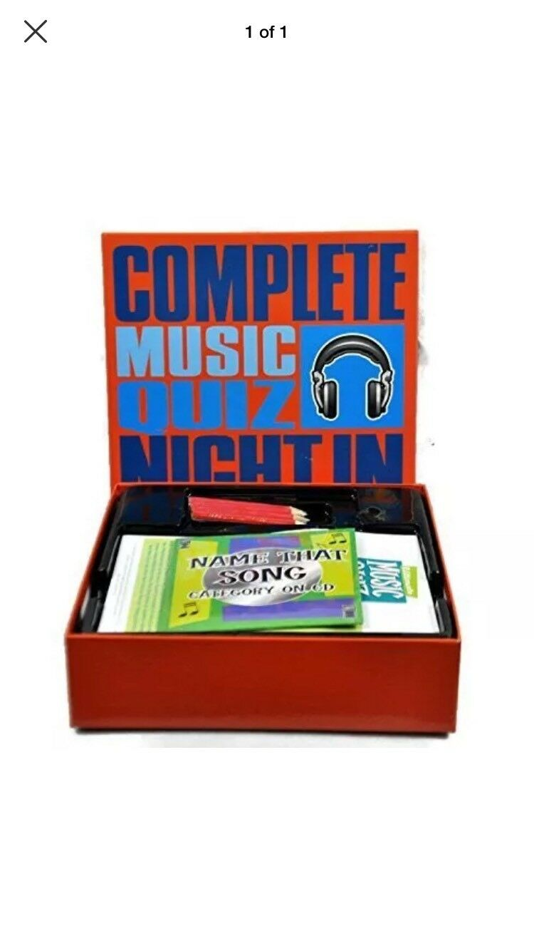 Complete Music Quiz Night In by Mad Moose