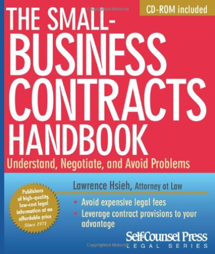 Lawrence  Hsieh-The Small-Business Contracts Handbook (US IMPORT) BOOK NEW