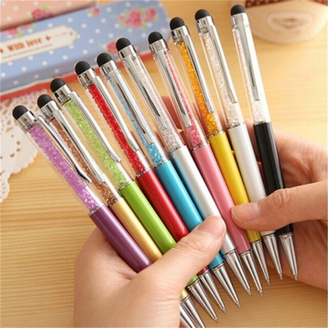 2-in-1 Touch Screen Stylus+Ballpoint Pen*For iPad iPhone Smartphone Tablet BLCA
