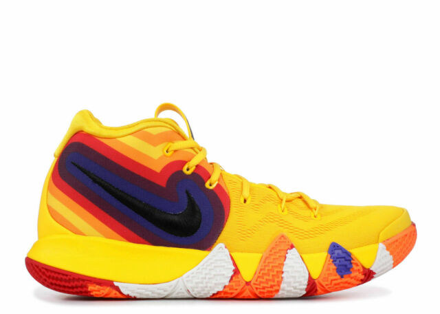 on sale 5206a 7d99a NIKE KYRIE 4 MEN S BASKETBALL SHOES SIZE  13 AMARILLO BLACK SAIL 943806 700