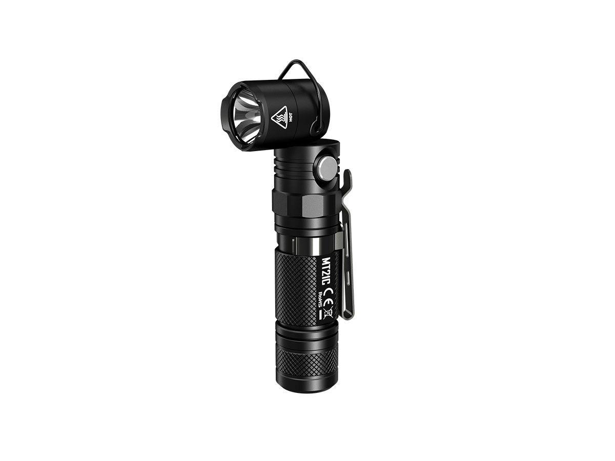 NiteCore MT21C CREE XP-L HD V6 LED 1000 Lumen - das Knicklicht
