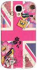 Accessorize Pink Union Jack Samsung Galaxy S4 Hard Case.