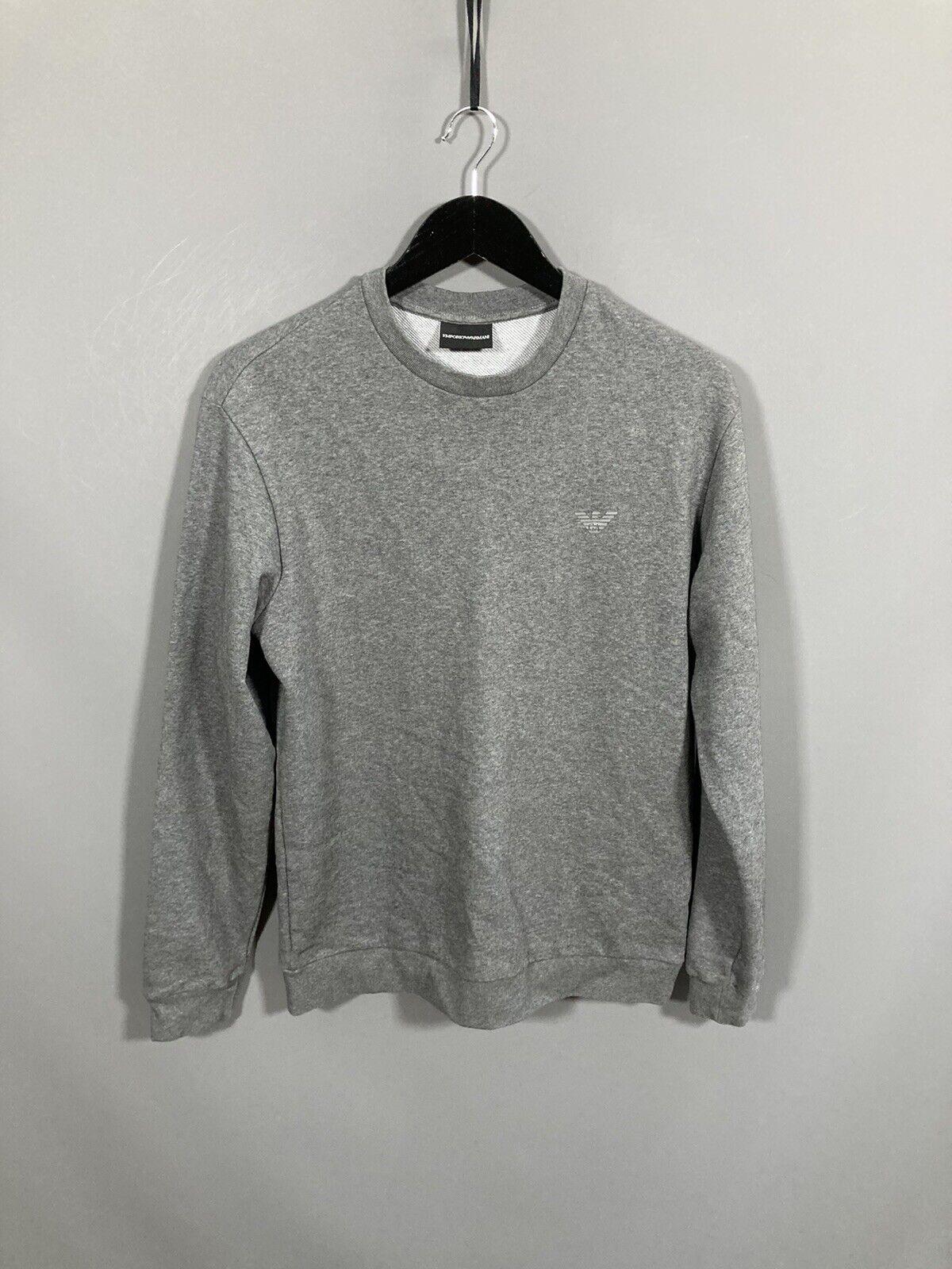 ARMANI Sweatshirt - Size Large - Grey - Great Condition - Men's