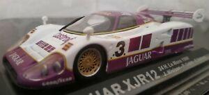 1-43-JAGUAR-XJR12-24H-LE-MANS-1990-J-NIELSEN-P-COBB-SALZAR-COCHE-METAL-ESCALA